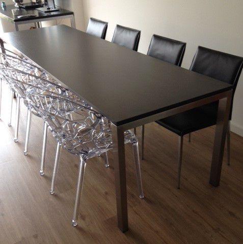 Magnifiek lange smalle tafel   Hagendijk Techniek - Metaalbewerkingsbedrijf #BJ14