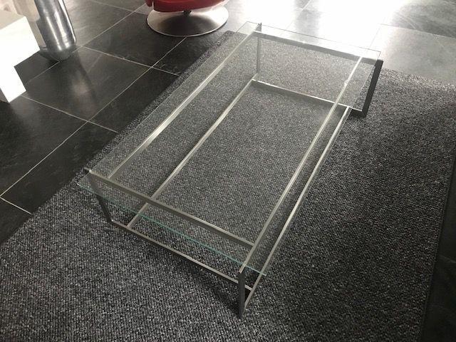 Salontafel Glas Met Rvs.Rvs Design Salontafel Hagendijk Techniek