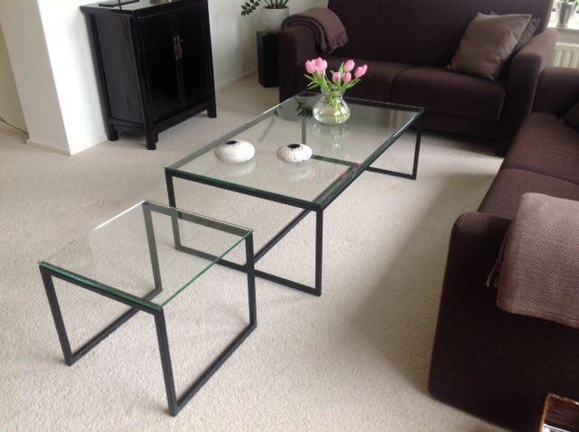 Zwarte Salon Tafel Met Glasplaat.Salontafel Zwart Glas Ikea In Eijsden 1918af75f3b