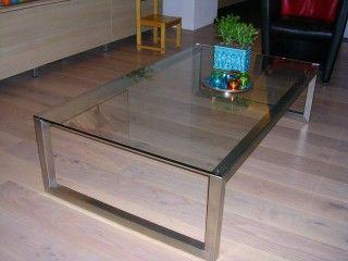 Glazen salontafel hagendijk techniek metaalbewerkingsbedrijf