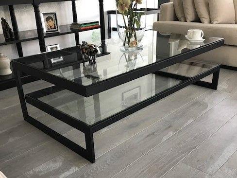 Zwarte glazen design tafel hagendijk techniek